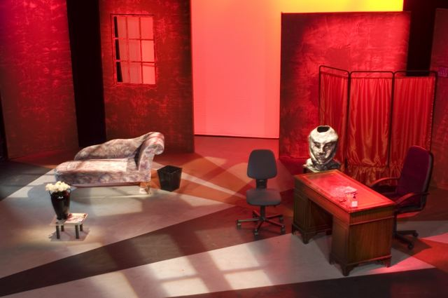 What The Butler Saw stage design 2