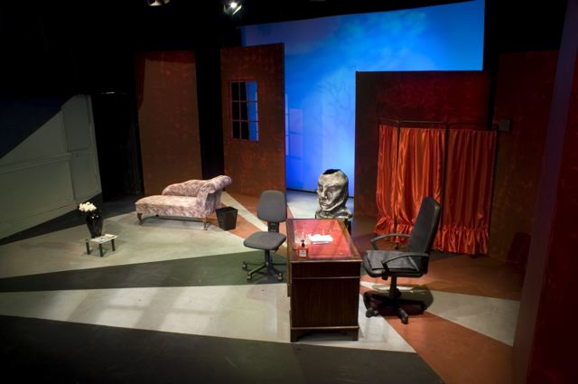 What The Butler Saw stage design 3